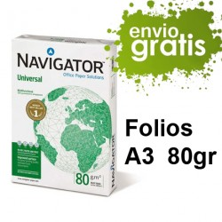 6,27€/ud. 6 Cajas Folios A3...